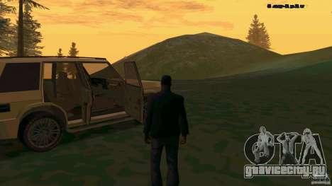 HD Huntley для GTA San Andreas вид справа