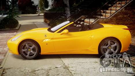 Ferrari California v1.0 для GTA 4 вид слева