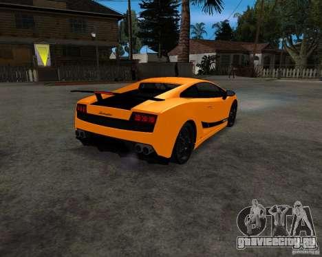 Lamborghini Gallardo LP570 Superleggera для GTA San Andreas вид справа