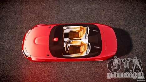 Mazda Miata MX5 Superlight 2009 для GTA 4 вид справа