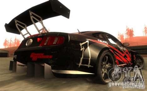 Ford Mustang Shelby GT500 V1.0 для GTA San Andreas вид справа