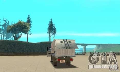 ЗиЛ 433112 с народным тюнингом для GTA San Andreas вид изнутри