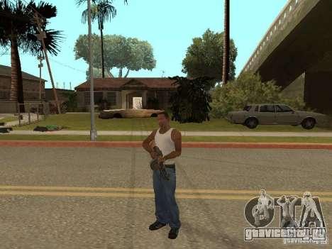 Ручной Пулемёт Дягтерёва для GTA San Andreas седьмой скриншот
