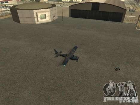 Новый самолёт Dodo для GTA San Andreas вид сзади