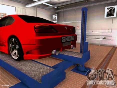 Nissan Silvia S15 для GTA San Andreas вид справа