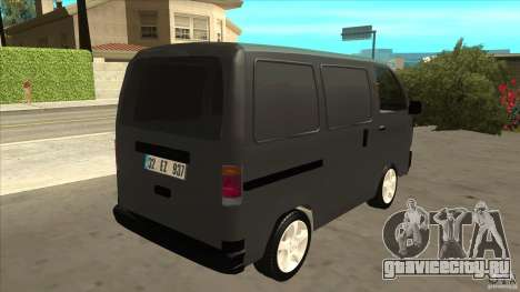 Suzuki Carry Blind Van 1.3 1998 для GTA San Andreas вид справа