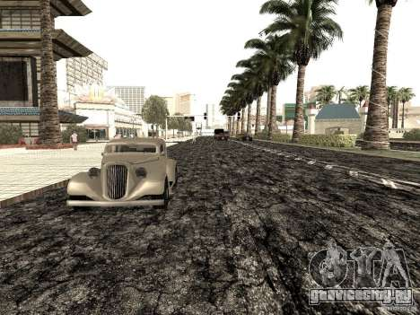 New roads in Las Venturas для GTA San Andreas