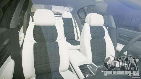 BMW 750Li Sedan ASANTI для GTA 4 вид сзади