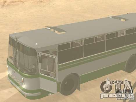 ЛАЗ 695Н для GTA San Andreas вид сзади слева