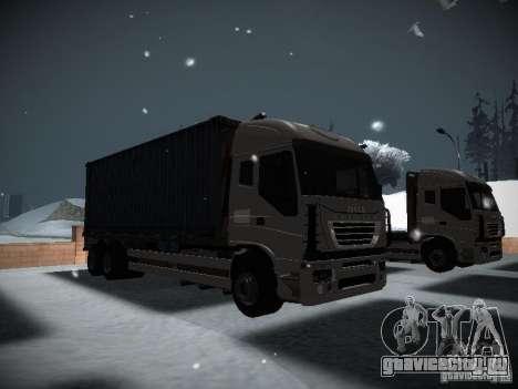 Iveco Stralis Long Truck для GTA San Andreas вид слева
