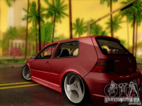 Volkswagen Golf Street для GTA San Andreas вид слева
