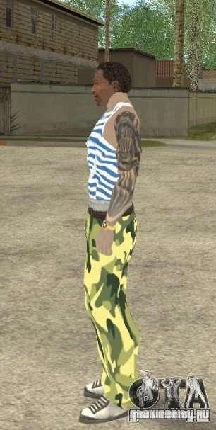 CJ ВДВ для GTA San Andreas пятый скриншот