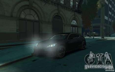Hyundai Genesis HKS v1.1 для GTA 4