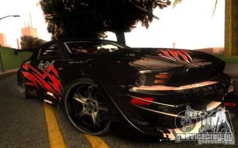 Ford Mustang Shelby GT500 V1.0 для GTA San Andreas