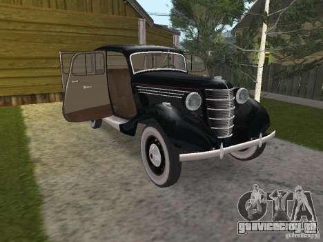 ГАЗ 11-73 для GTA San Andreas вид изнутри