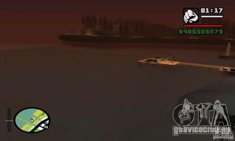 ENBSeries 0.075 (только вода) для GTA San Andreas седьмой скриншот