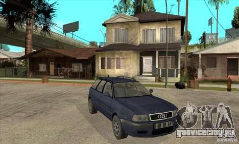Audi 80 B4 Avant для GTA San Andreas вид сзади