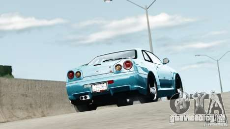 Nissan Skyline GT-R (R34) Stance для GTA 4