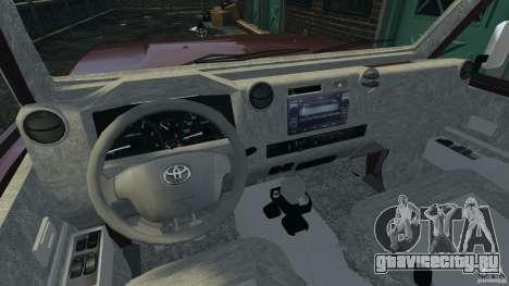 Toyota Land Cruiser Pick-Up 2012 для GTA 4 вид сзади слева