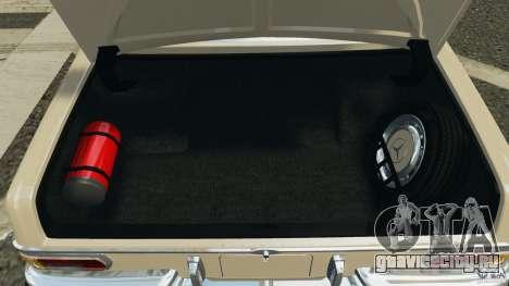 Mercedes-Benz 300Sel 1971 v1.0 для GTA 4 салон