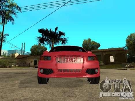 Audi S3 2006 Juiced 2 для GTA San Andreas вид справа