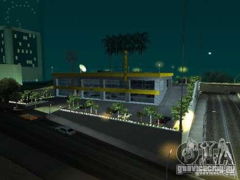 Новый автосалон в Cан-Фиеро для GTA San Andreas