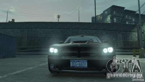 Dodge Charger 2007 SRT8 для GTA 4 вид справа