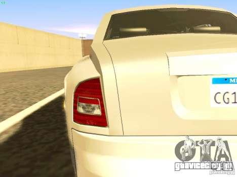 Rolls-Royce Phantom V16 для GTA San Andreas вид сверху