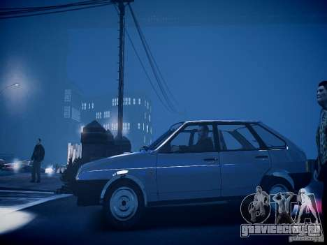 ВАЗ 21093i для GTA 4 вид сзади слева
