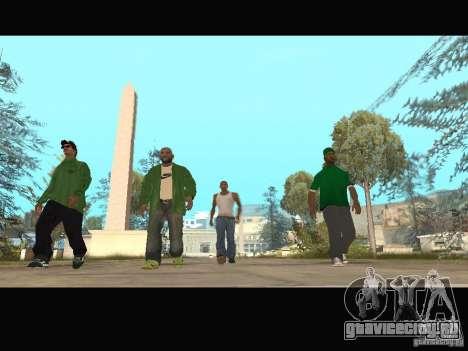 New Sweet, Smoke and Ryder v1.0 для GTA San Andreas десятый скриншот