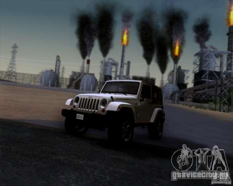 Jeep Wrangler Rubicon для GTA San Andreas