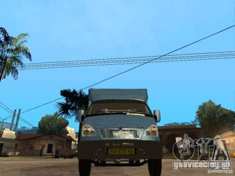 ГАЗель Рута для GTA San Andreas вид справа