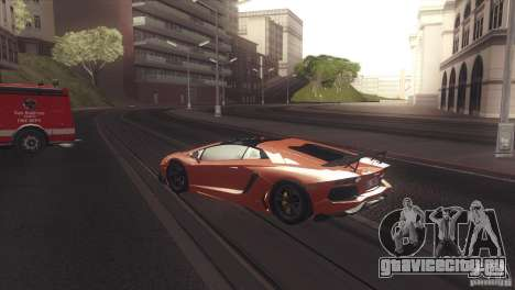 2013 Lamborghini Aventador LP700-4 Roadstar для GTA San Andreas вид справа