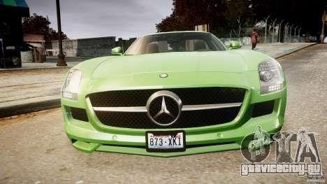 Mercedes-Benz SLS AMG 2010 [EPM] для GTA 4 двигатель
