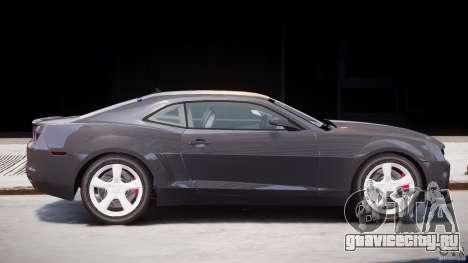 Chevrolet Camaro SS 2009 v2.0 для GTA 4 вид сверху