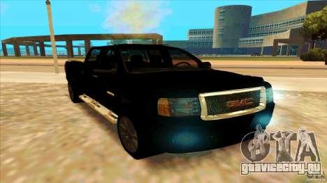 GMC Sierra 2011 для GTA San Andreas вид справа