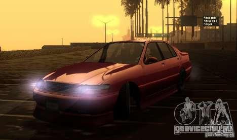 FEROCI VIP для GTA San Andreas вид сзади