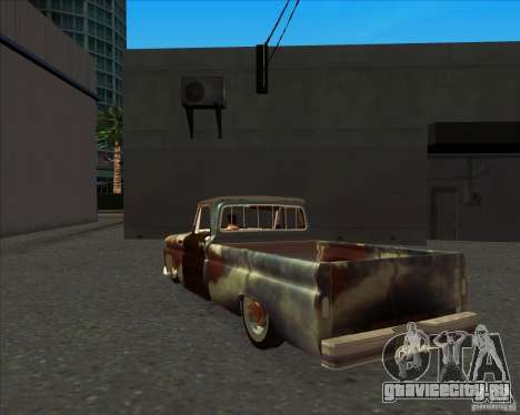 Chevrolet C10 Rat Rod для GTA San Andreas вид справа