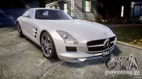 Mercedes-Benz SLS AMG 2010 [EPM] для GTA 4 вид изнутри