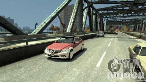 Mercedes-Benz E 500 Coupe V2 для GTA 4 вид слева