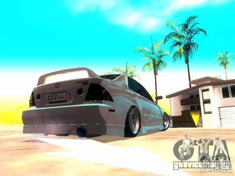 Toyota Altezza HKS для GTA San Andreas вид сзади слева