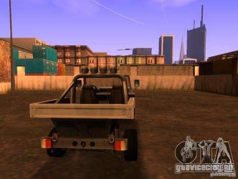 Пикап из Т3 для GTA San Andreas вид сзади слева