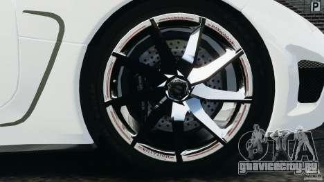 Koenigsegg Agera R v2.0 [EPM] для GTA 4 вид сбоку