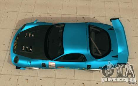 Mazda RX-7 911 Trust для GTA San Andreas вид справа