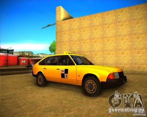 АЗЛК 2141 такси для GTA San Andreas вид слева