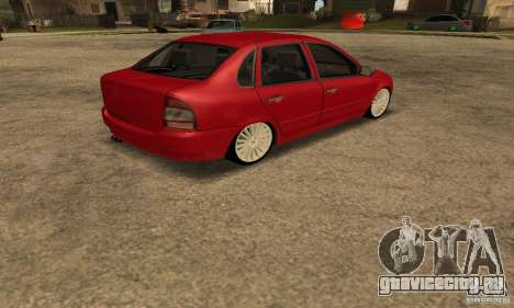Lada 1118 Kalina для GTA San Andreas вид слева