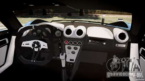 Gumpert Apollo Sport v1 2010 для GTA 4 вид сзади