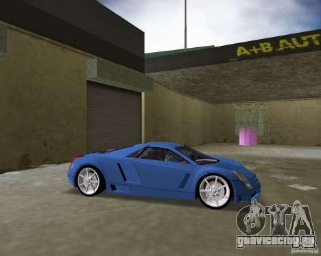 Cadillac Cien для GTA Vice City вид сзади слева