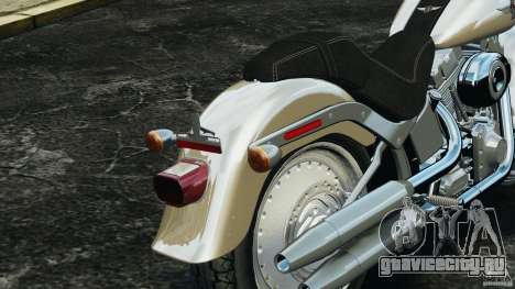 Harley Davidson Softail Fat Boy 2013 v1.0 для GTA 4 вид снизу