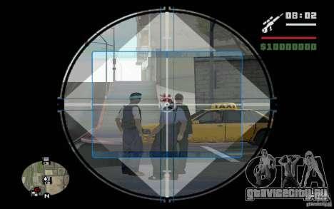 Снайпер мод v.2 для GTA San Andreas второй скриншот